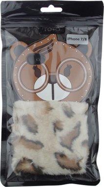 Чехол-накладка TOTO TPU Fluffy Case IPhone 7/8 Bear Brown