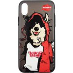 Чехол-накладка PUZOO TPU Case with UV Printing Hip Hop iPhone X MC Husky Black