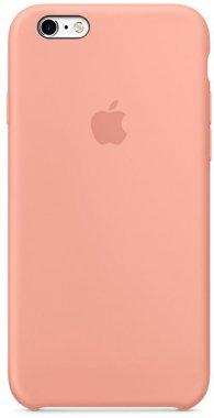 Чехол-накладка Apple Silicone Case iPhone 6/6s Flamingo