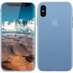Чехол-накладка TOTO 360 Fully-covered TPU case iPhone X Blue