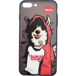 Чехол-накладка PUZOO TPU Case with UV Printing Hip Hop iPhone 7 Plus /8 Plus MC Husky Black