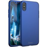 Чехол-накладка Ipaky 360 PC Full Protection case iPhone X Blue