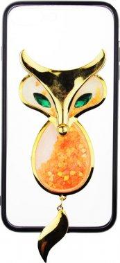 Чехол-накладка TOTO TPU Case Decorative Stones IPhone 7 Plus/8 Plus A Fox Black