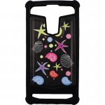 "Чехол-накладка TOTO Universal TPU case with image 5,5"" Sea Stars Black"