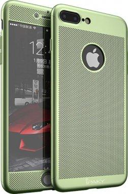 Чехол-накладка Ipaky 360 Mesh PC Heat Dissipation cover case 3 in 1 iPhone 7 Plus Green