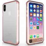 Чехол-накладка TOTO PC Shockproof case iPhone X Pink