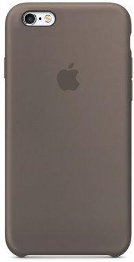 Чехол-накладка Apple Silicone Case iPhone 6/6s Taupe