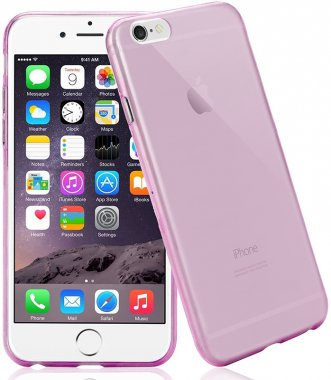 Чехол-накладка TOTO TPU case 0.2mm iPhone 6/6s Clear/Pink