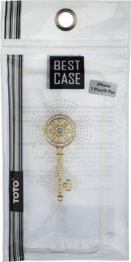 Чехол-накладка TOTO TPU case with stones iPhone 7 Plus/8 Plus Key Transparent