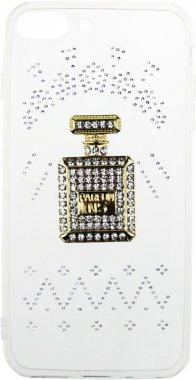 Чехол-накладка TOTO TPU case with stones iPhone 7 Plus/8 Plus Perfume Transparent