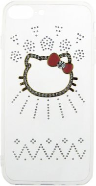 Чехол-накладка TOTO TPU case with stones iPhone 7 Plus/8 Plus Kiti Transparent