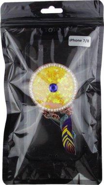 Чехол-накладка TOTO TPU Case Decorative Stones IPhone 7/8 Dreamcatcher Black
