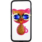 Чехол-накладка TOTO TPU Case Decorative Stones IPhone 7/8 Cat Pink
