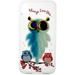 Чехол-накладка TOTO TPU Case Decorative Stones IPhone X Owls Cold Ice