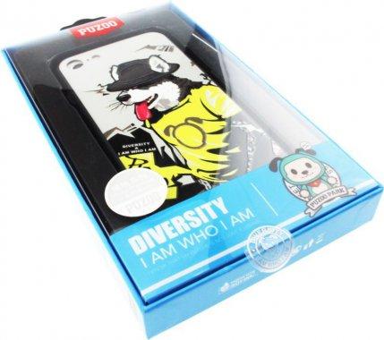 Чехол-накладка PUZOO TPU Case with UV Printing Hip Hop iPhone 7/8 RAP Alaskan Grey