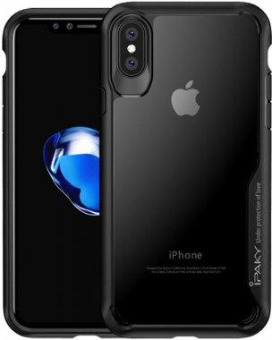 Чехол-накладка Ipaky Survival TPU Frame Injected Anti-Scratch iPhone Xs Max Black