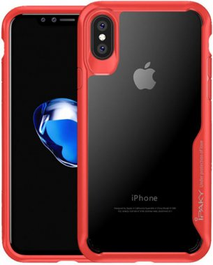 Чехол-накладка Ipaky Survival TPU Frame Injected Anti-Scratch iPhone Xs Max Red