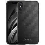 Чехол-накладка Ipaky Carbon Fiber Series/ TPU Case with Carbon Fiber Pattern iPhone Xs Black
