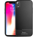 Чехол-накладка Ipaky Carbon Fiber Series/ TPU Case with Carbon Fiber Pattern iPhone Xr (6,1) Black