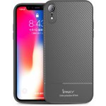 Чехол-накладка Ipaky Carbon Fiber Series/ TPU Case with Carbon Fiber Pattern iPhone Xr (6,1) Gray