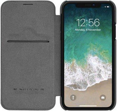 Чехол-книжка Nillkin Qin Leather Case Apple iPhone Xs Max Black