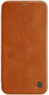 Чехол-книжка Nillkin Qin Leather Case Apple iPhone Xs Max Brown