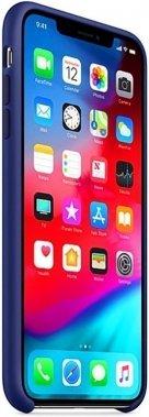 Чехол-накладка Apple Silicone Case Apple iPhone Xs Max Midnight Blue