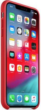 Чехол-накладка Apple Silicone Case Apple iPhone Xs Max Red