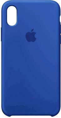 Чехол-накладка Apple Silicone Case Apple iPhone Xs Max Deep Blue