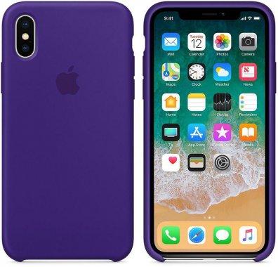 Чехол-накладка Apple Silicone Case Apple iPhone Xs Max Lilac
