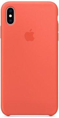 Чехол-накладка Apple Silicone Case Apple iPhone Xs Max Apricot