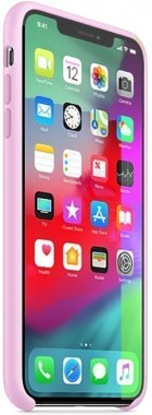 Чехол-накладка Apple Silicone Case Apple iPhone Xs Max Pink