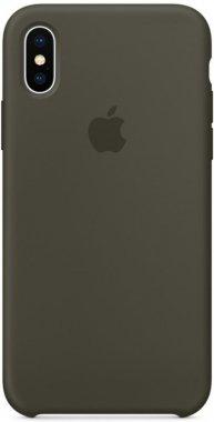 Чехол-накладка Apple Silicone Case Apple iPhone Xs Max Dark Gray