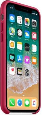 Чехол-накладка Apple Silicone Case Apple iPhone Xs Max Rose Red