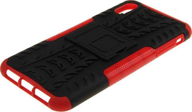Чехол-накладка TOTO Dazzle kickstand 2 in 1 phone case iPhone Xs Max Red
