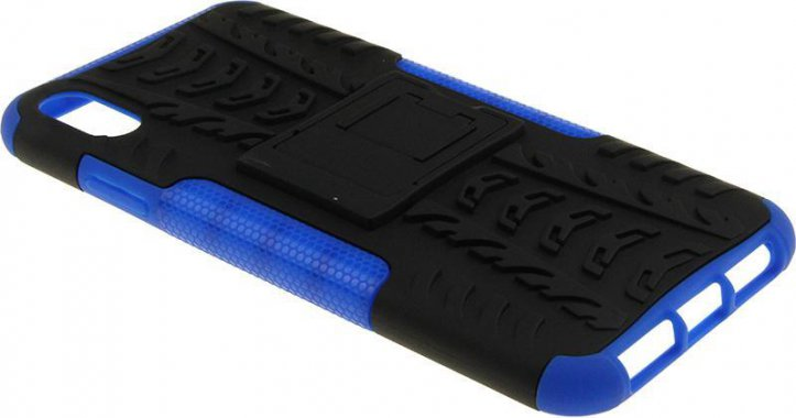 Чехол-накладка TOTO Dazzle kickstand 2 in 1 phone case iPhone Xs Max Blue