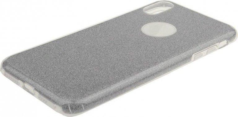 Чехол-накладка TOTO TPU Case Rose series 3 IN 1 iPhone Xs Max Silver