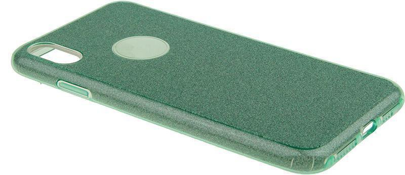 Чехол-накладка TOTO TPU Case Rose series 3 IN 1 iPhone Xs Max Green