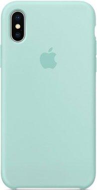Чехол-накладка Apple Silicone Case Apple iPhone Xs Max Light Blue