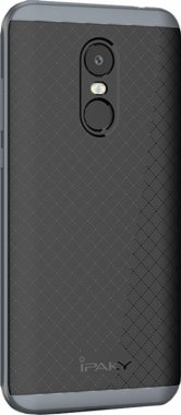 Чехол-накладка Ipaky Bumblebee Series/ PC Frame with TPU Case Xiaomi Redmi 5 Plus Gray