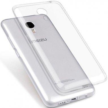 Чехол-накладка TOTO TPU case clear Meizu M5с Transparent