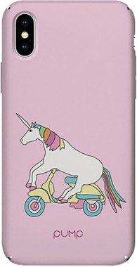 Чехол-накладка PUMP Tender Touch Case for iPhone X/XS Unicorn Biker