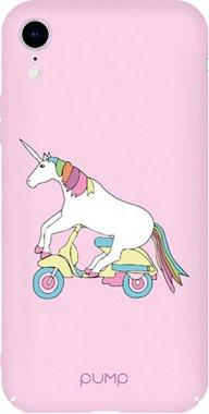Чехол-накладка PUMP Tender Touch Case for iPhone XR Unicorn Biker