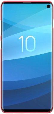 Чехол-накладка Nillkin Super Frosted Shield Samsung Galaxy S10 (SM-G973) Red