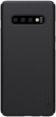 Чехол-накладка Nillkin Super Frosted Shield Samsung Galaxy S10 Plus (SM-G975) Black