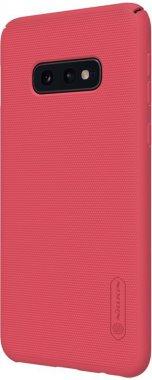 Чехол-накладка Nillkin Super Frosted Shield Samsung Galaxy S10e (SM-G970) Red