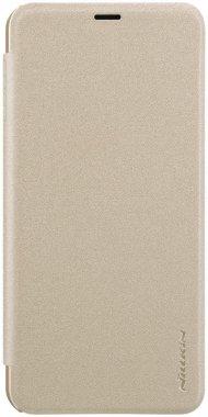 Чехол-книжка Nillkin Sparkle Leather Case Samsung Galaxy J4+ (2018)/J4 Prime Gold