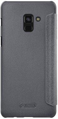 Чехол-книжка Nillkin Sparkle Leather Case Samsung Galaxy A8 (2018)/A530F Black