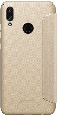 Чехол-книжка Nillkin Sparkle Leather Case Huawei P Smart (2019) Gold