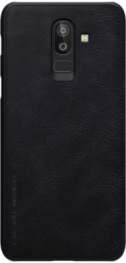 Чехол-книжка Nillkin Qin Leather Case Samsung Galaxy J8 2018 (SM-J810F) Black